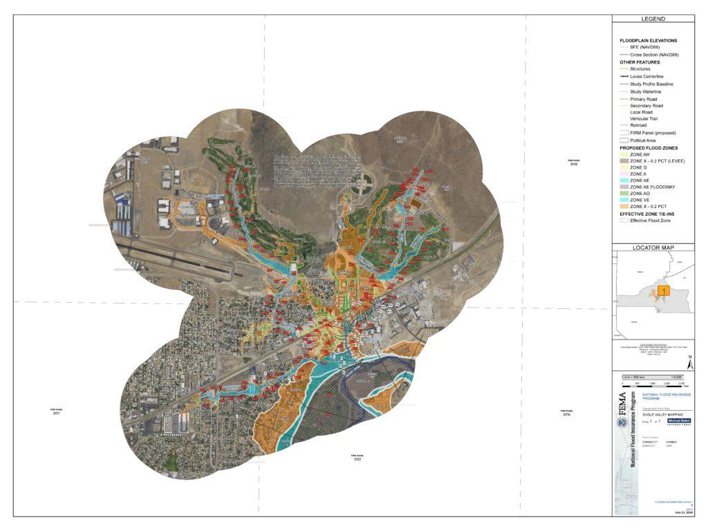 Eagle Valley Golf Course A Amp B Flood Map  Carson City
